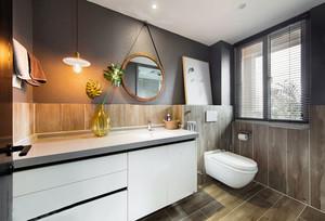 简约风格卫生间浴室柜设计装修效果图赏析