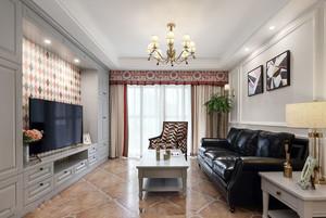 美式风格精美客厅电视背景墙装修效果图赏析