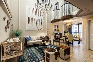 300平米欧式风格精美奢华别墅室内装修效果图