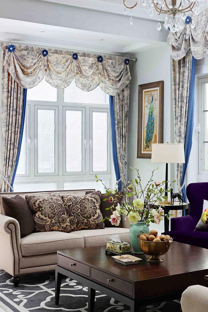 320平米欧式风格精美别墅室内装修效果图案例