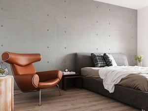72平米现代风格精致一居室室内装修效果图案例
