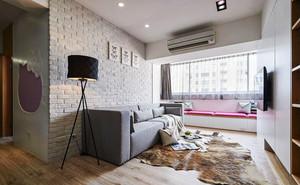 现代风格小户型客厅飘窗设计装修效果图赏析