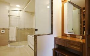 新中式风格精致三室两厅室内设计装修效果图