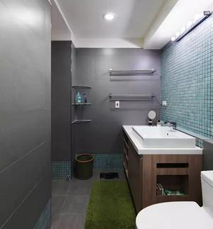 宜家风格清新时尚两室两厅室内装修效果图