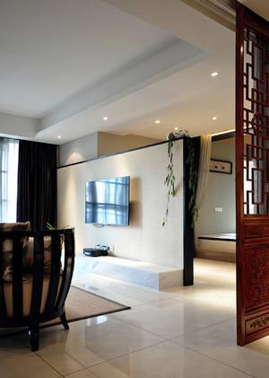 157平米中式风格精致大户型室内装修效果图案例
