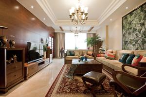 188平米中西混搭风格精致复式楼室内装修效果图