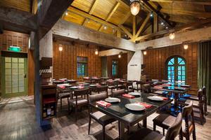 中式风格精致中餐厅装修效果图赏析