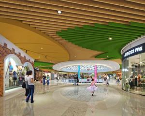 现代风格商场大堂设计装修效果图赏析