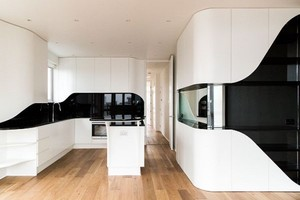 现代风格时尚白色厨房设计装修效果图大全