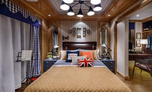 美式风格时尚精致卧室装修效果图鉴赏