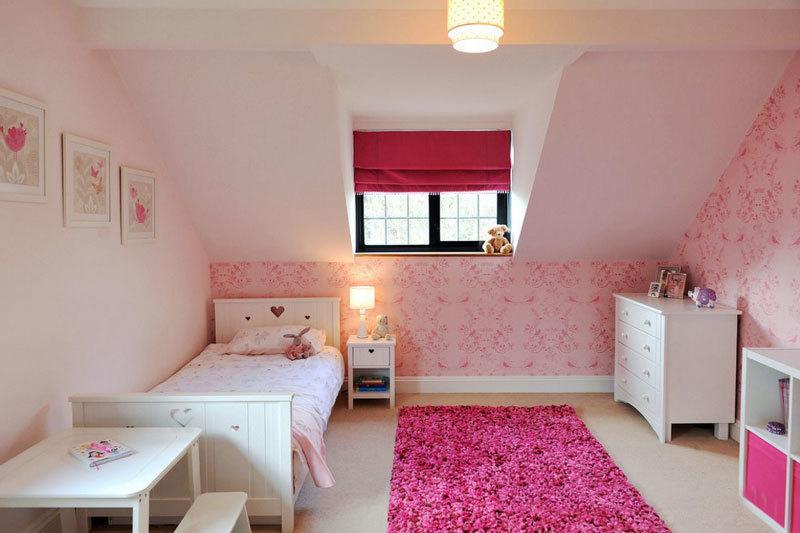 欧式风格粉色精美儿童房装修效果图赏析