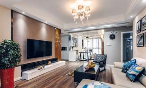 81平米现代风格时尚精致公寓装修效果图赏析