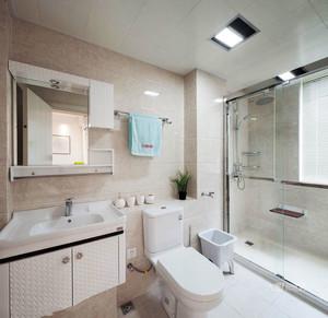 10平米现代风格精致卫生间装修实景图鉴赏