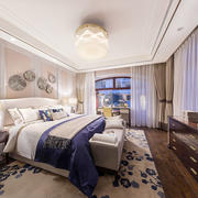 新古典主义风格大户型精致卧室装修效果图赏析