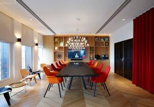 现代风格时尚会议室装修效果图赏析