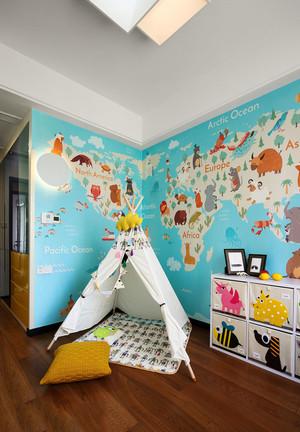北欧风格时尚创意儿童房设计装修效果图