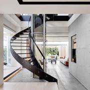 后现代风格时尚精致楼梯设计装修效果图赏析