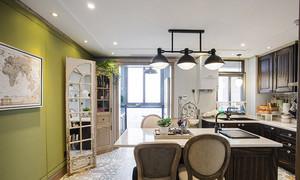 混搭风格温馨浅色大户型室内装修效果图案例