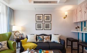 188平米美式风格精致复式楼室内装修效果图赏析