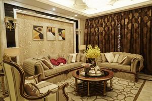 135平米欧式风格精装大户型室内设计装修效果图