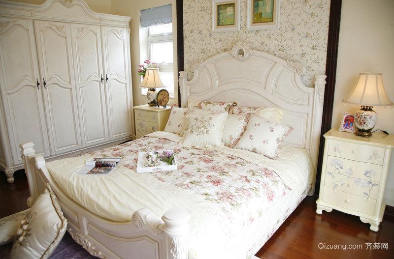 107平米欧式田园风格精美两室两厅装修效果图