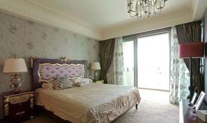 欧式风格三居室精美卧室装修效果图