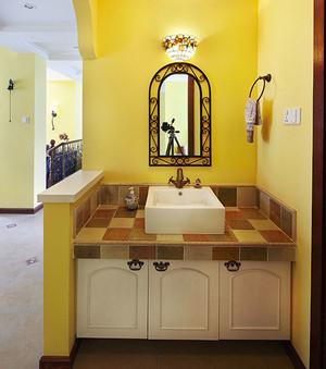 170平米田园风格温馨复式楼室内装修效果图