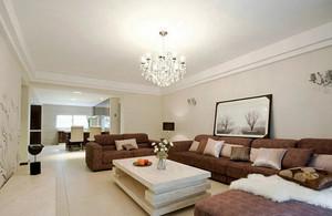 90平米现代风格精致两室两厅室内装修效果图案例