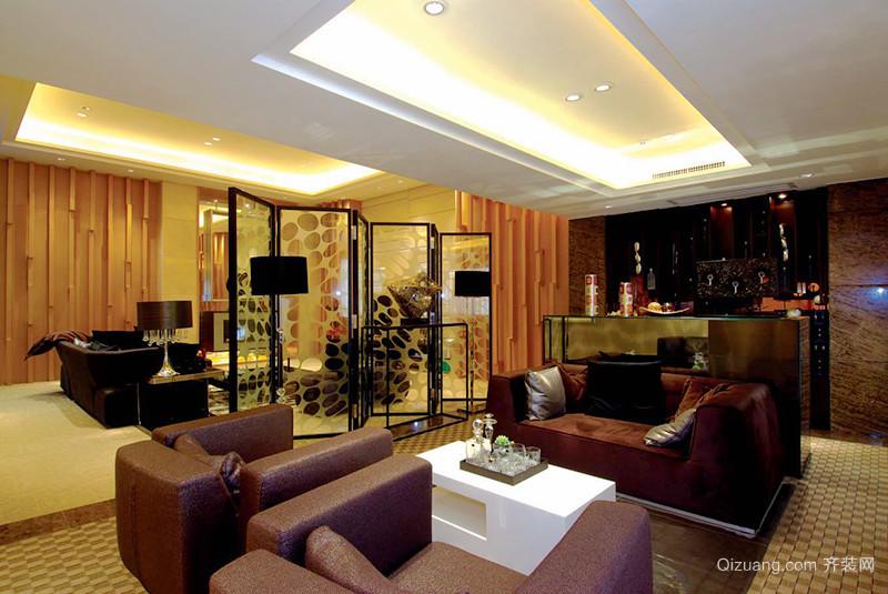 216平米现代风格别墅室内装修效果图赏析