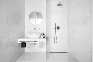 现代简约风格时尚白色单身公寓装修效果图赏析