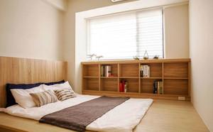 16平米现代风格榻榻米卧室装修效果图赏析