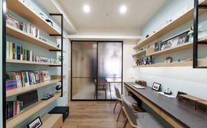现代风格简易书房设计装修效果图赏析