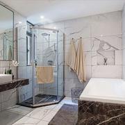 现代风格精致大户型卫生间设计装修效果图