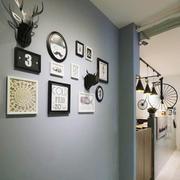 清新风格时尚室内照片墙装修效果图赏析