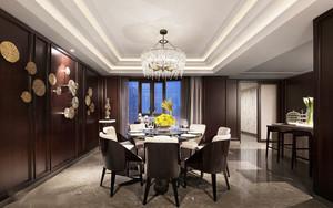 中式风格古典精致餐厅设计装修效果图赏析