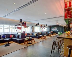 现代风格时尚文艺咖啡厅设计装修效果图