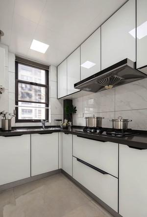现代简约风格白色厨房装修效果图赏析