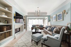 美式风格精美清新客厅设计装修效果图赏析