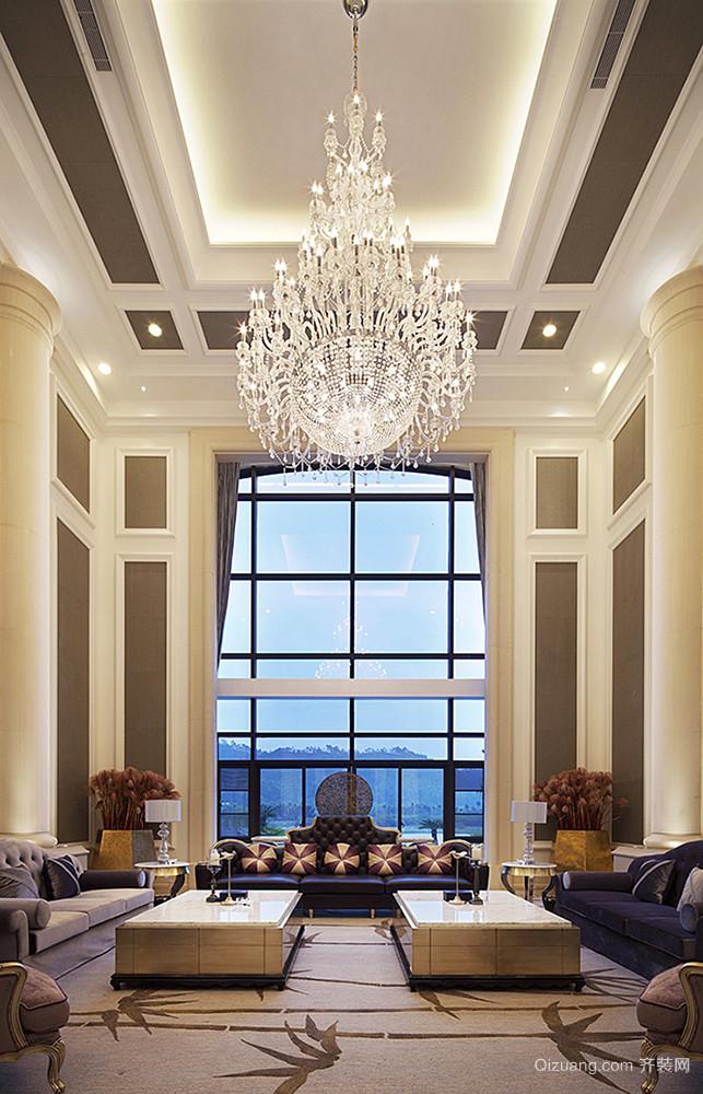 400平米欧式风格豪华别墅室内装修效果图