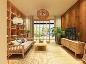 日式风格简约禅意一居室室内装修效果图