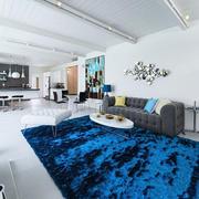 现代简约风格时尚客厅设计装修效果图赏析