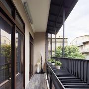 现代风格大户型精致阳台设计装修效果图