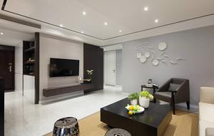 120平米新中式风格素雅室内设计装修效果图