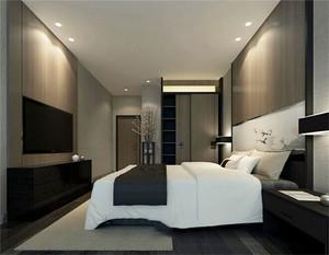 现代风格精致宾馆客房设计装修效果图