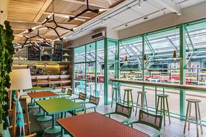 清新风格时尚餐厅设计装修效果图赏析