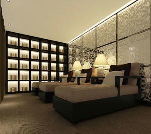 中式风格精致美容院设计装修效果图赏析