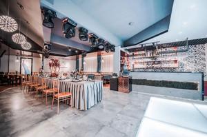现代风格时尚餐厅设计装修效果图赏析