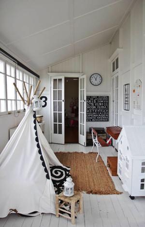 北欧风格简约浅色儿童房设计装修效果图赏析