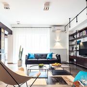 后现代风格大户型精致客厅设计装修效果图