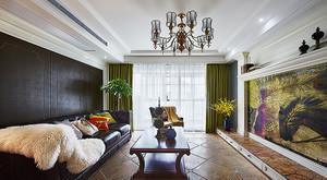324平米混搭风格精美别墅室内装修效果图案例